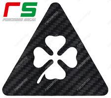 alfa romeo 2 triangoli QUADRIFOGLIO ADESIVI carbon mito 147 giulietta 159