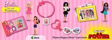 2014 McDonalds Barbie Life in the Dreamhouse MIP Complete Set - Lot of 8