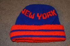 Vtg New York Rangers  Winter Hat Cap Knit Toque