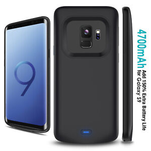 Fr Samsung Galaxy S8 S9 Portable Heavy Duty Backup External Battery Charger Case