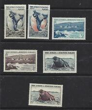 FRENCH SOUTHERN & ANTARCTIC TERR - 2 - 7 - MH/MNH - 1956 ISSUES