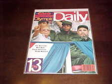 1996 Sports Illustrated Olympic Daily Program Track and Field Primo Nebiolo