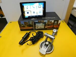 great Rand McNally GPS OverDryve 7 Touch screen camera in box free shipping