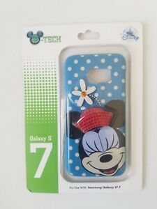 Disney Parks D Tech Minnie Mouse Cell Phone Hard Case for Samsung Galaxy S7