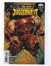 2018 Marvel X-Men Black #1 Juggernaut J. Scott Campbell NM