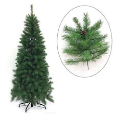 Albero di Natale slim artificiale verde Cervino cm 230 mt 2,30 super folto Rotex
