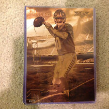 ELI MANNING #FON-EM GIANTS #ed/10 Made 2015 Topps FIRE 5X7 Gold Forces of Nature