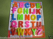 26 Pieces ABC Alphabet Fridge Magnets Earily Letter Magnetic Educational Toy G25