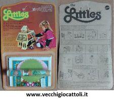 Case di bambole e miniature letto vintage