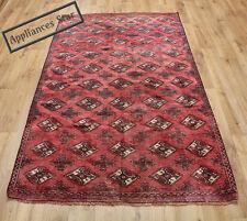OLD WOOL HAND MADE PERSIAN ORIENTAL FLORAL RUNNER AREA RUG CARPET 155x130CM