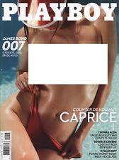 Dutch Playboy Magazine 2015-11 Caprice Castillo, Daphne Deckers, Ana Cheri ...