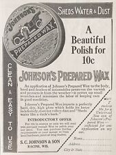 1915 AD(L22)~S.C. JOHNSON SON CO. RACINE, WIS. JOHNSON'S PREPARED CAR WAX