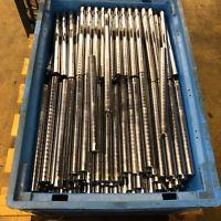 Reststück Stahl 42CrMo4 +QT Ø 20 mm  ca. 315 mm Lang  ca. 0,77 kg  (K21b)
