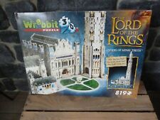 WREBBIT PUZZ 3D The Lord Of The Rings CITADEL OF MINAS TIRITH 100% VVGC LOTR