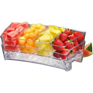 Prodyne Condiment Bar On Ice