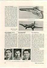 1941 PAPER AD Hubley's Pirate Pistol Toy Metal Bomber Airplane Plane Article