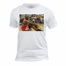 T-shirt Homme Col Rond Michael Jordan Assis Chicago Bulls Basketball Superstar