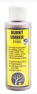 NEW Woodland Earth Color Burnt Umber 4 oz C1222 FREE US SHIP