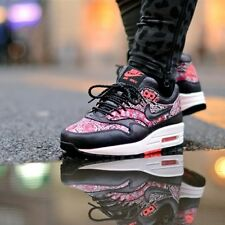 Nike AIRMAX 1 Liberty of London QS SOLAR RED Rare 9.5