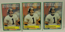 Lot Of ( 3 ) 1983 Topps Gary Anderson Rookie Cards # 356 Steelers