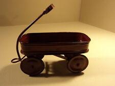 Standard Decorative Wagon 10in L x 4 1/2in W x 10 1/2in H Red/Black