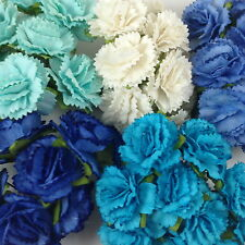 50 Paper Flowers Carnation Scrapbook Cardmaking Doll Home Craft Supply CA1-607