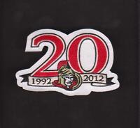 NHL OTTAWA SENATORS 20TH ANNIVERSARY JERSEY PATCH VERY RARE