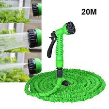20M Flexibler Wasserschlauch Gartenschlauch Flexi Hose Magic Schlauch dehnbarer
