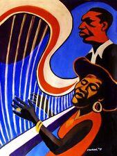 ALICE COLTRANE PRINT poster jazz monastic trio cd cosmic jazz john coltrane harp
