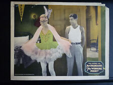 1929 THE WINNING POINT -LOBBY CARD- SILENT COMEDY SHORT - GAY TRANS - COLLEGIANS