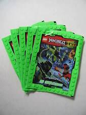 Lego Ninjago Masters of Spinjitsu 5 Packs Of Stickers Topps Characters Book BN