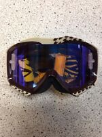 NEW SMITH MX GOGGLES TINTED LENS WITH TEAR OFF PINS YFZ450 TRX450R LTR450 400EX