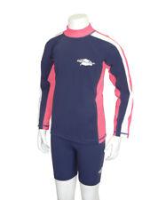 Youth Girls Boys Rash Shirt Vest Guard Top Rashie Long Sleeve UV Sun Protection