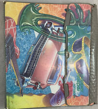 "Vintage 1989 Mead Trapper Keeper ""Cool Car"" 3-Ring Binder Portfolio Notebook"