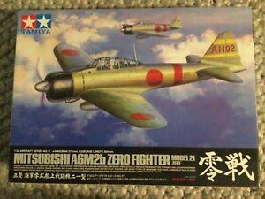 Tamiya 60317 1/32 Mitsubishi A6M2b Zero Type 21 (Zeke) Plastic Model Kit