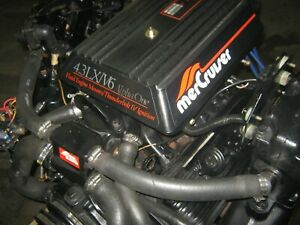 Mercruiser 4 3 Complete Inboard Gas Engines For Sale Ebay