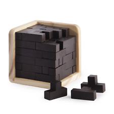 3D Wooden Brain Teaser Puzzle Mental Puzzles for Ages 14+ Puzzle Box Pukkr