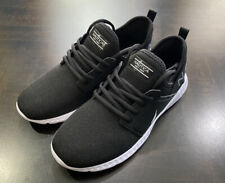 Nautica Rainey Boys Lace Up Sneakers Lightweight Black Size 4 Shoes NWB