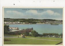 Paignton From Ravenswood Gardens 1961 Postcard 732a