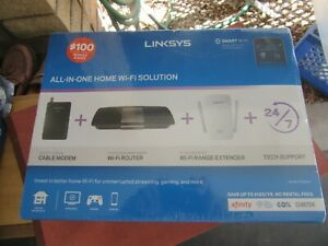 SEALED BOX Linksys F5Z0644 Cable Modem & AC1600 WiFi Router & Extender FREE SHIP