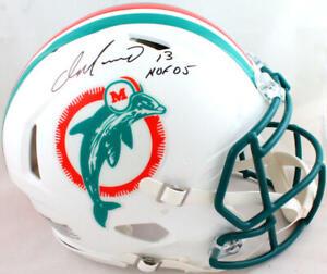 Dan Marino Signed Dolphins F/S 80-96 Speed Authentic Helmet W/HOF-Beckett W *Blk
