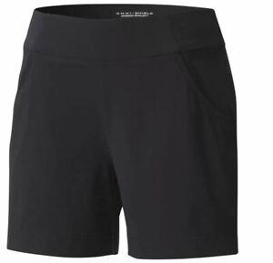 Womens Columbia Anytime Casual Shorts NWT Black Medium