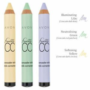 Avon Ideal Flawless CC Concealer Stick / Colour Correction Pencil, new, boxed