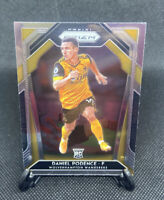 2020-21 EPL Premier League Soccer Prizm Daniel Podence Wolves Silver Prizm RC!