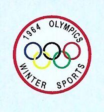Corgi 475 Citroen | 1964 Winter Olympics | Waterslide Transfer