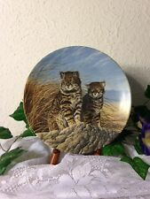 """Knowels 1991 Eighth Issue Great Cats The Americas """"Pampas Cat"""" By Lee Cable"""
