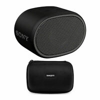 Sony XB01 Extra Bass  Portable Bluetooth Speaker (Black) with travel case