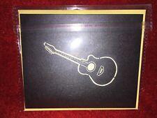Beautiful Pop-Up Guitar Birthday Card