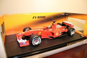 Hot Wheels 1/18 F1 Ferrari F1-2000 Michael Schumacher #3 Marlboro