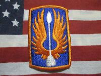 US ARMY 18th Aviation Brigade Color Shoulder Dress Uniform Patch m/e